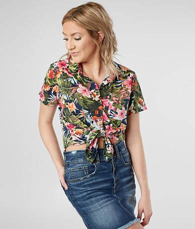 Daytrip Hawaiian Floral Shirt