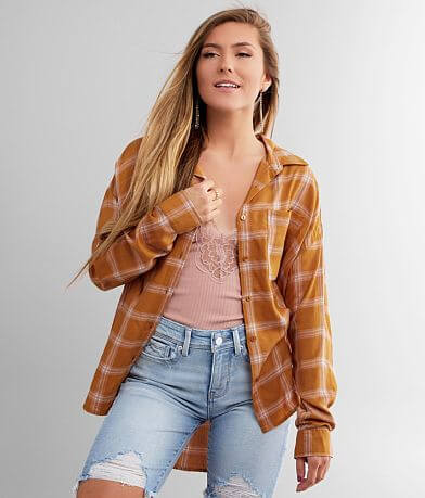 Daytrip Woven Plaid Shirt