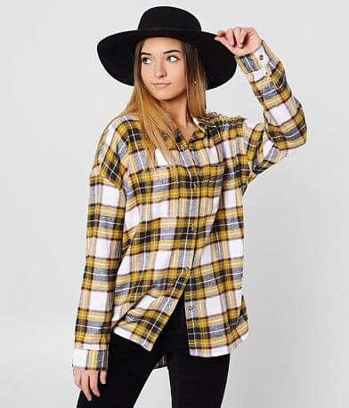 Daytrip Oversized Flannel Shirt