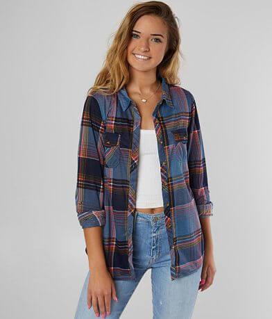 Daytrip Knit Plaid Shirt