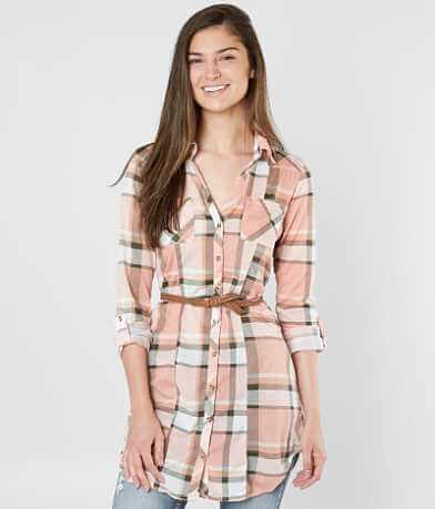 Passport Plaid Tunic Shirt