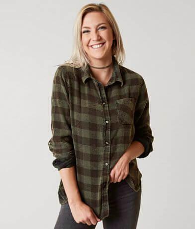 Daytrip Washed Flannel Shirt