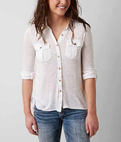 Passport Slub Fabric Shirt
