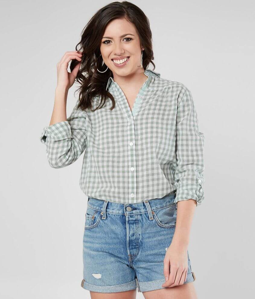 Daytrip Gingham Shirt front view