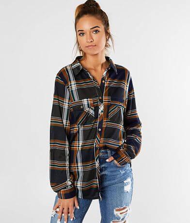 Daytrip Back Lace-Up Knit Shirt
