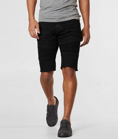 Salvage Havoc Slim Straight Moto Stretch Short