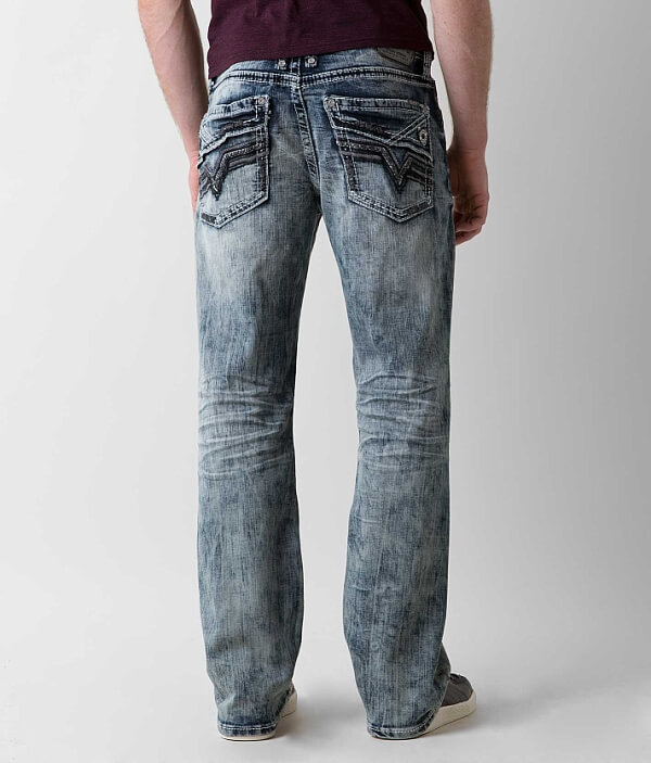 Anarchy Relaxed Stretch Salvage Jean Straight gRAUdxBd