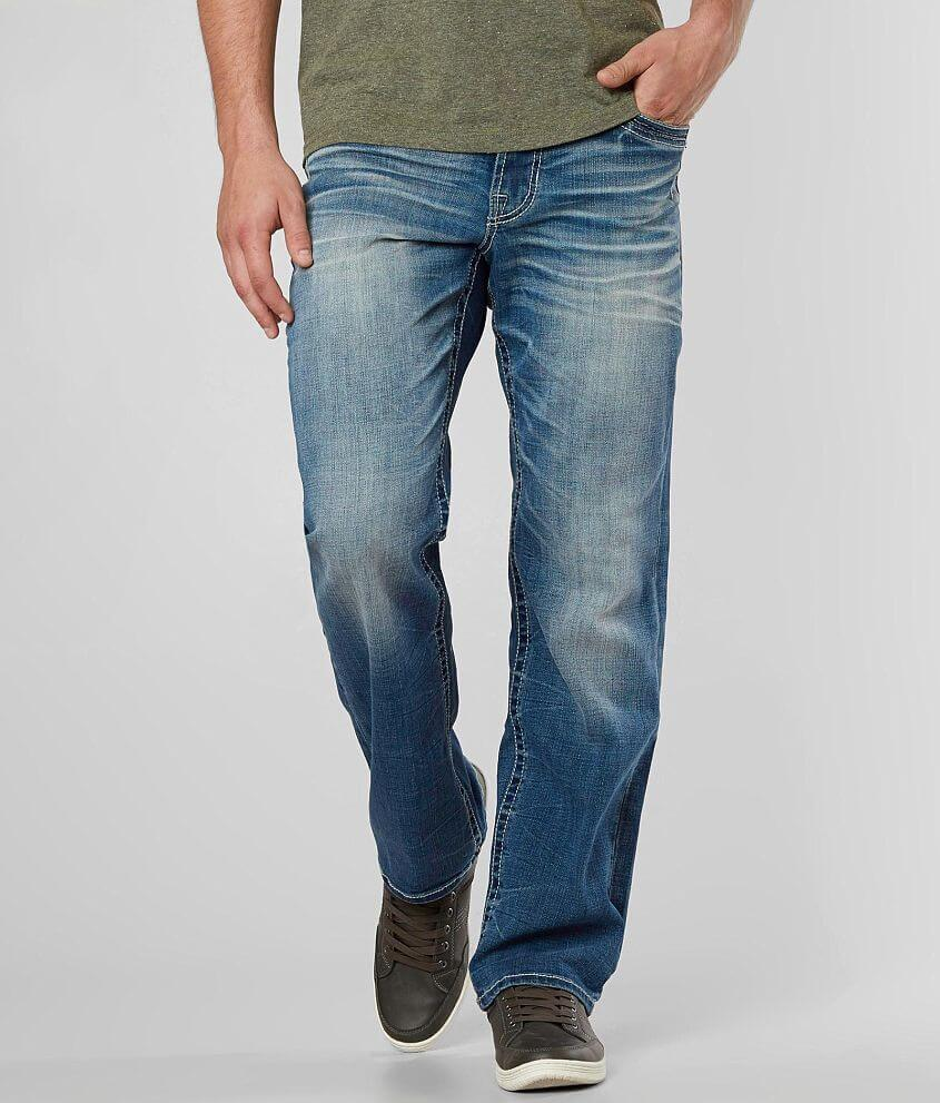 Salvage Anarchy Relaxed Straight Stretch Jean front view