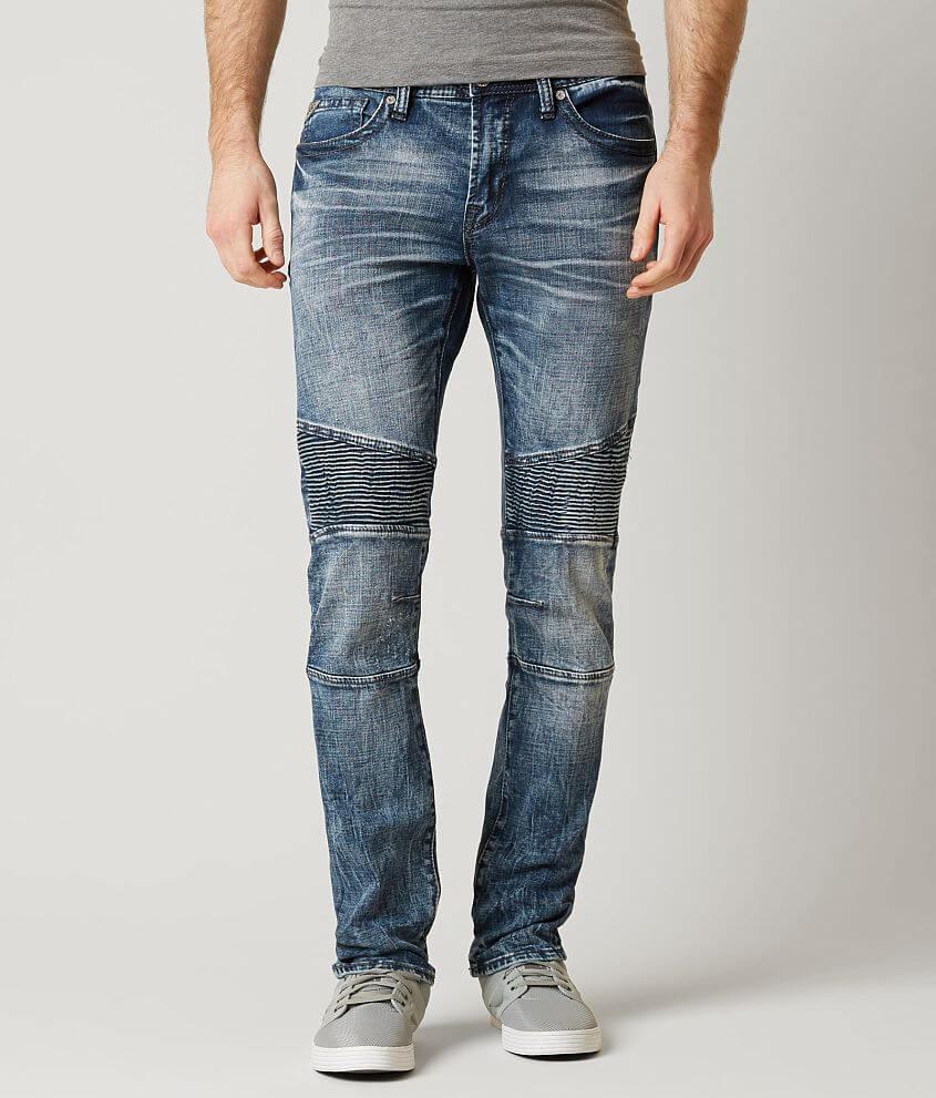 Salvage Havoc Skinny Moto Stretch Jean