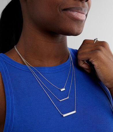BKE Bar Necklace Set