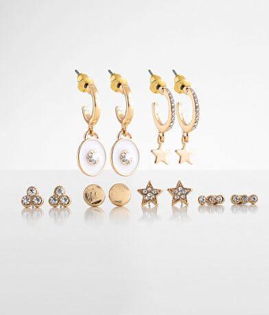 BKE 6 Pack Celestial Earring Set