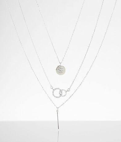BKE Dainty 3 Pack Necklace Set