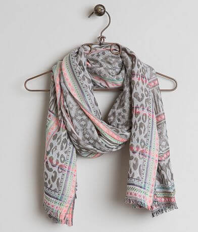 Daytrip Raw Edge Scarf