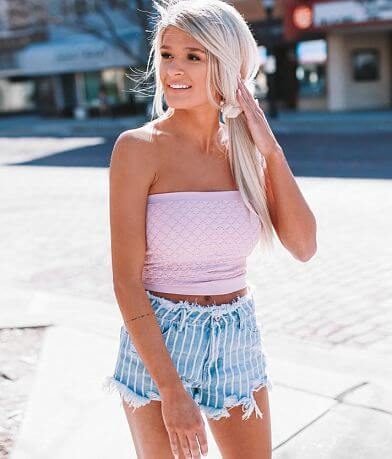 Willow & Root Textured Tube Top