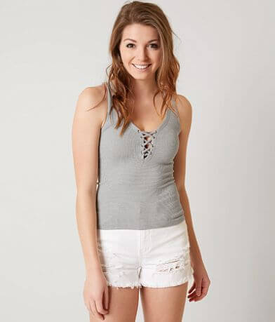 Suzette Lace-Up Tank Top