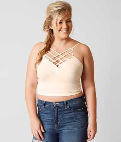 Suzette Strappy Bralette - Plus Size Only
