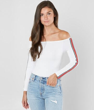 Suzette Off The Shoulder Cropped Top
