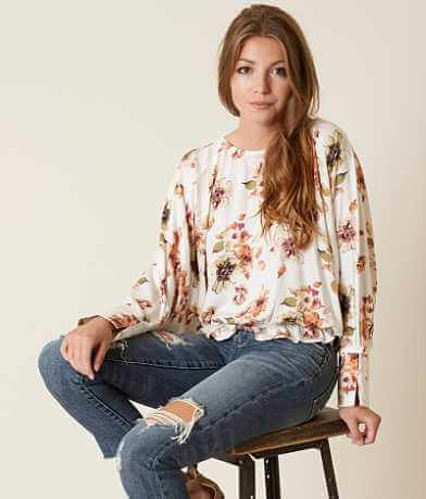 Mustard Seed Floral Top