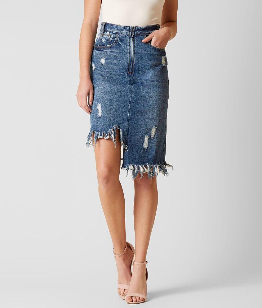 064c698b4ce080 Mustard Seed Denim Skirt - Women's Skirts in Denim | Buckle