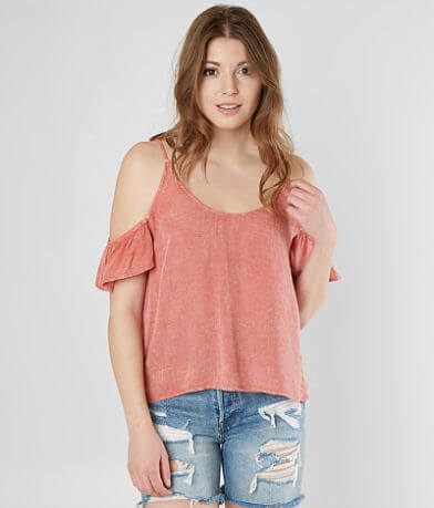Mustard Seed Washed Top