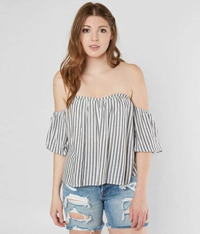 Mustard Seed Striped Top