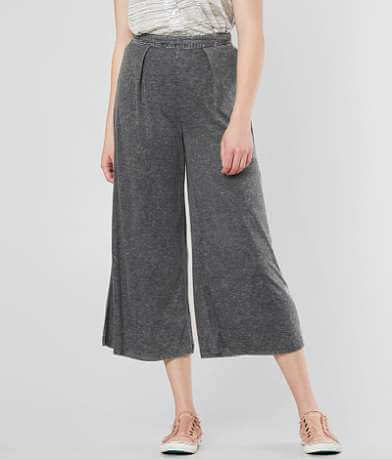 Mustard Seed Wide Leg Cropped Pant