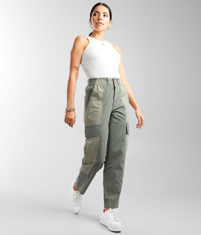 Gilded Intent Two-Tone Cargo Pant front view