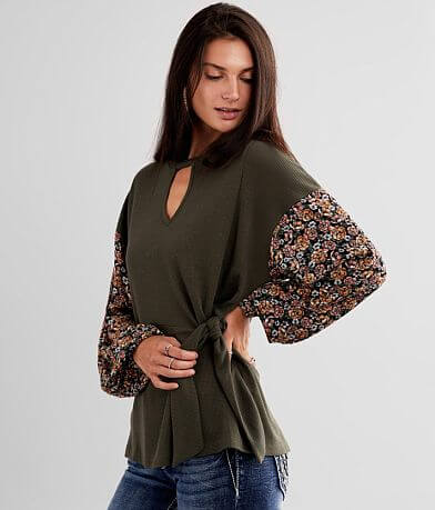 Daytrip Keyhole Thermal Top