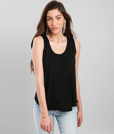 Daytrip Back Lace-Up Tank Top