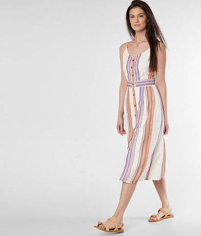 Daytrip Striped Sleeveless Dress