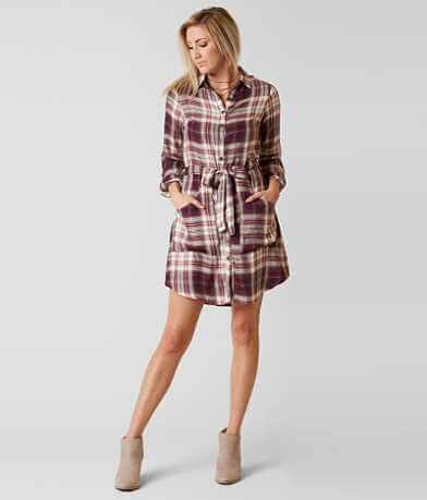 Jolt Plaid Dress