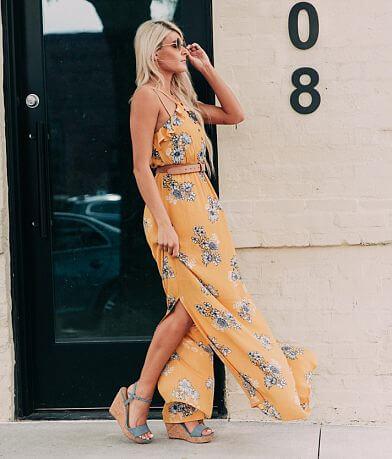 Jolt Floral Maxi Dress