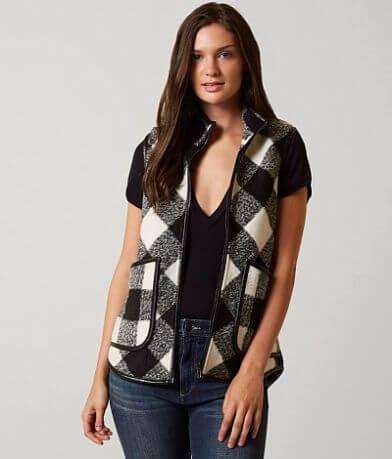 BKE Checkered Vest