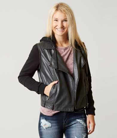 BKE Faux Leather Jacket