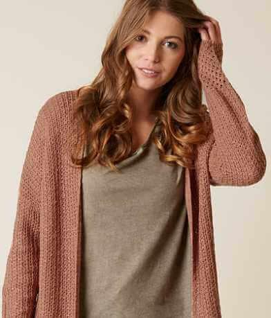 Daytrip Slub Yarn Cardigan Sweater