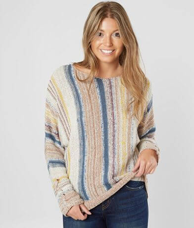 Jolt Vertical Striped Sweater