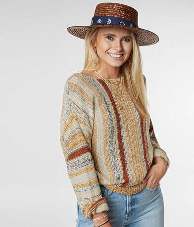 Daytrip Twisted Tulip Back Sweater