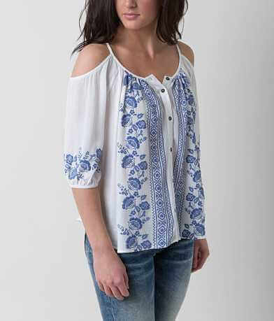Jolt Cold Shoulder Shirt