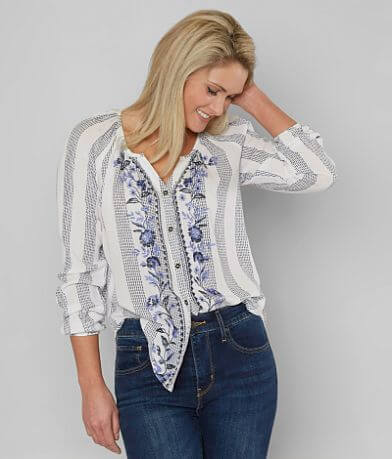 Jolt Embroidered Blouse