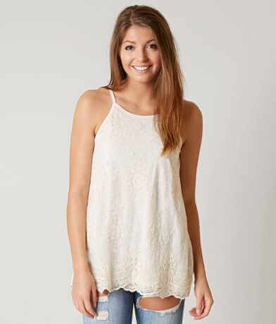 Jolt High Neck Tank Top
