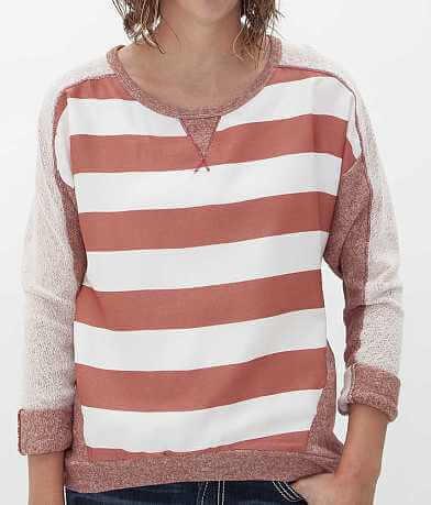 Jolt Striped Sweatshirt