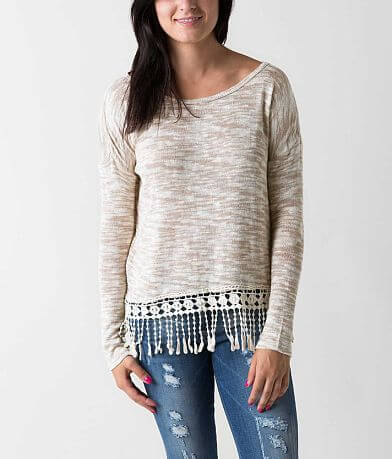 Jolt Marled Sweater