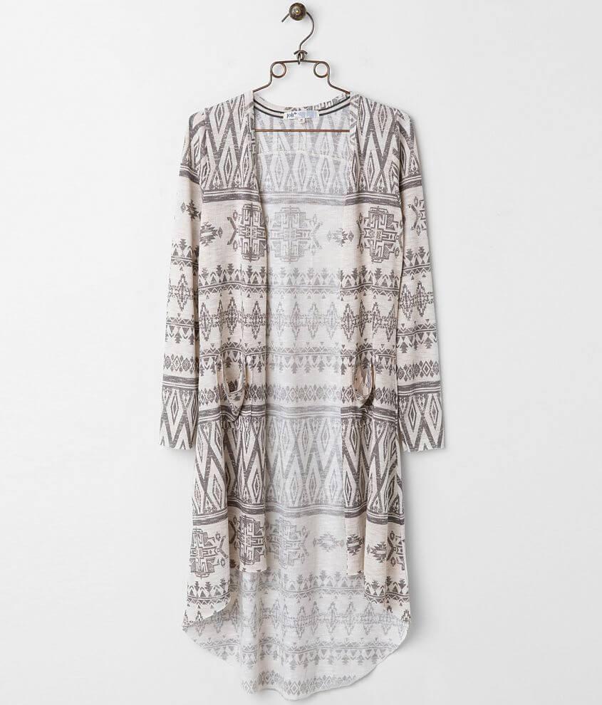 8fe71f412e Jolt Printed Duster Cardigan - Women s Sweaters in Bone