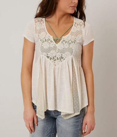Jolt Lace Top