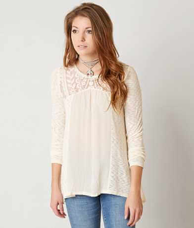 Jolt Slub Fabric Top