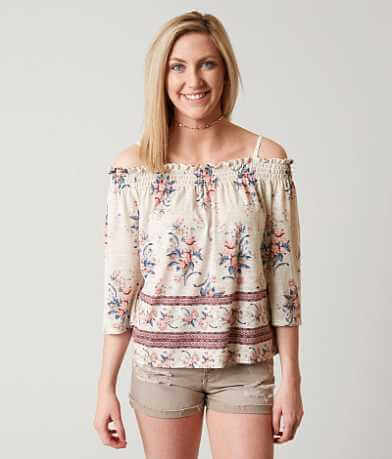 Jolt Cold Shoulder Top