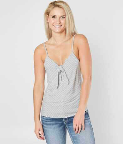 Jolt Striped Knit Tank Top