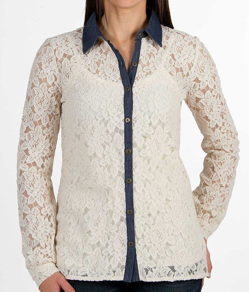 Jolt Lace Shirt front view