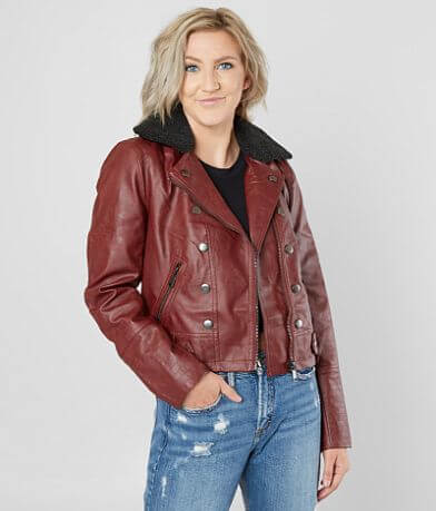 Jolt Vegan Leather Jacket