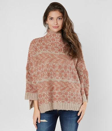 mystree Mock Neck Sweater
